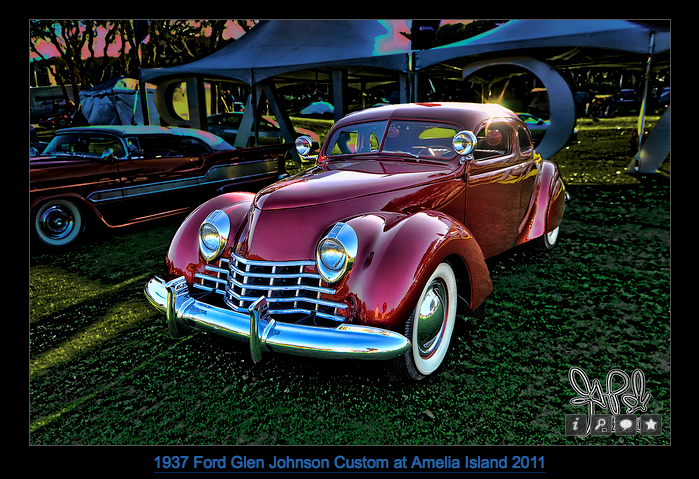 1937 glenn johnson ford custom