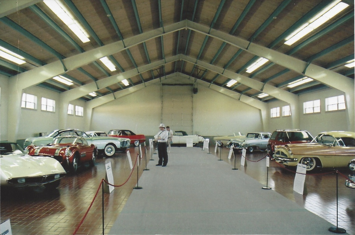 Bortz Auto Collection on display at the Gilmore Museum 1992 to 1994