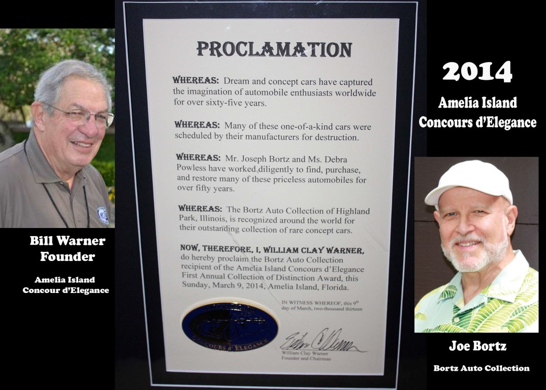 Proclamation from Bill Warner