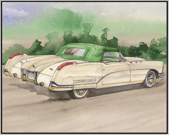 Buick Wildcat Painting