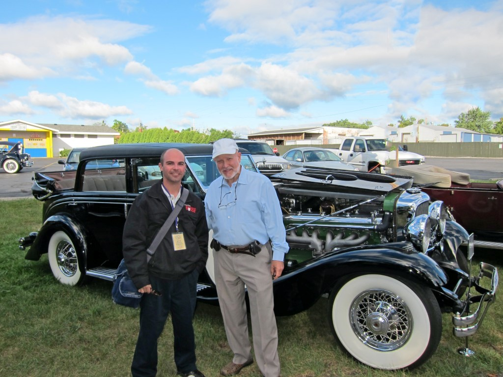 Joe and Angelo at the Duesenberg Races